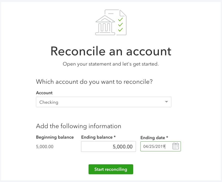 Whats The Purpose Of Balancing Or Monitoring Your Checking Account >> Reconcile Accounts In Quickbooks Online Quickbooks Community