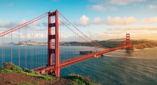 California Golden Gate Bridge