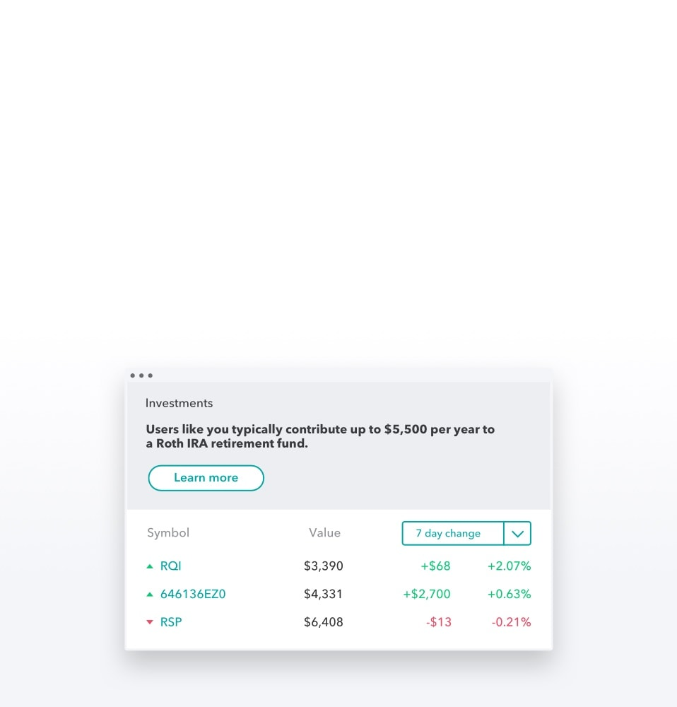 Investment Tracker & Investment Tracking Software | Mint