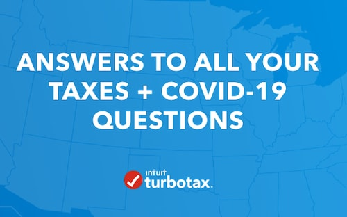 Answers to all your taxes + COVID-19 questions