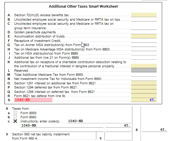 Image of TurboTax Forms Mode