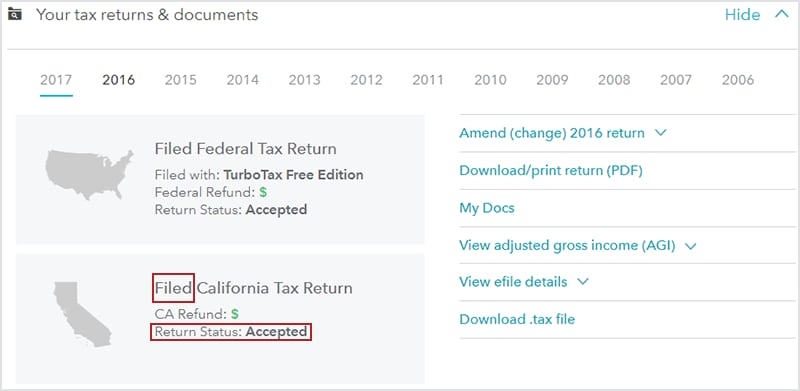 how do i track my state - turbotax® support - get help using turbotax