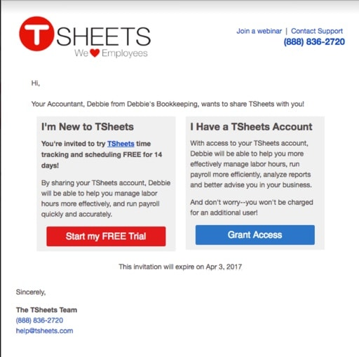 Accountant email
