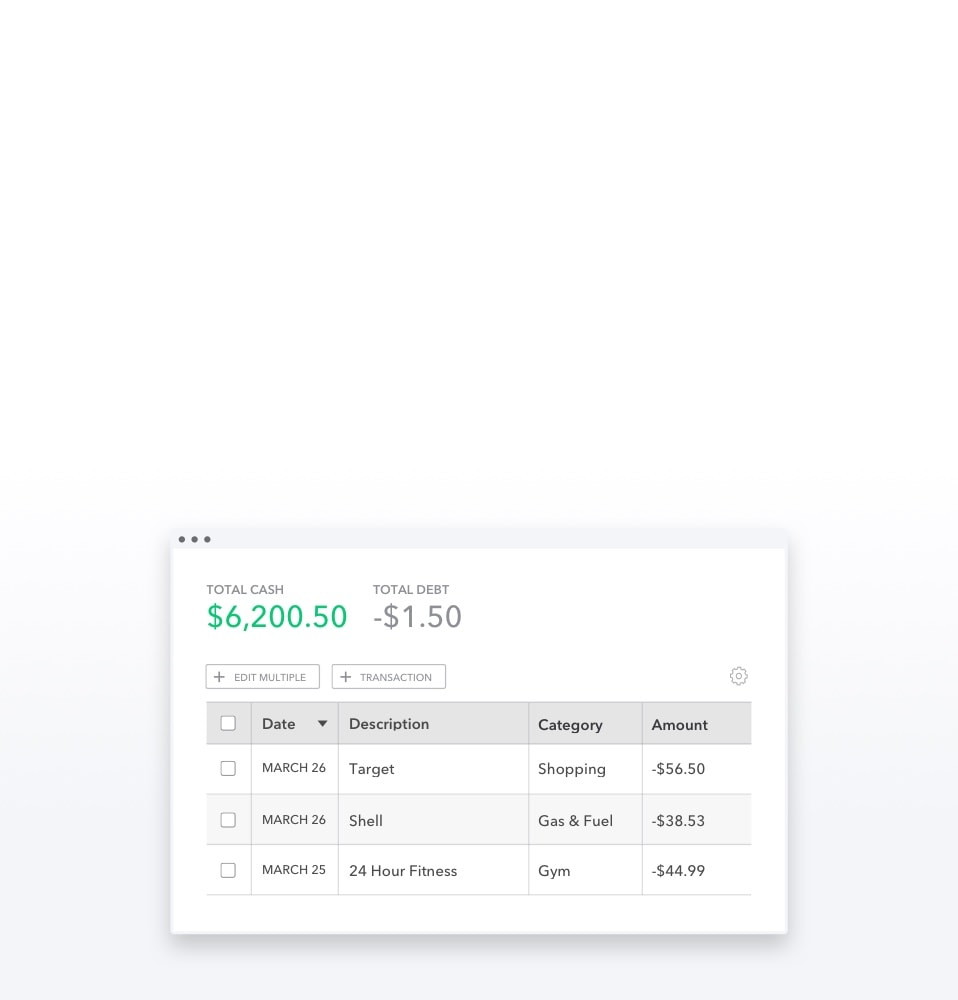 Budget Categories, Tags, & Organization | Mint