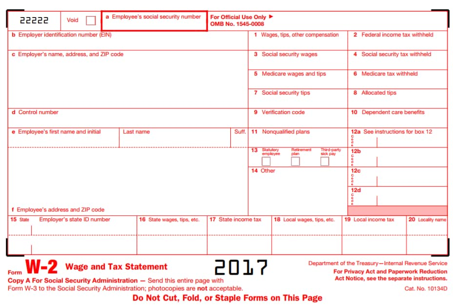 what does w2 form look like  w 11 tax form - Wpa.wpart.co