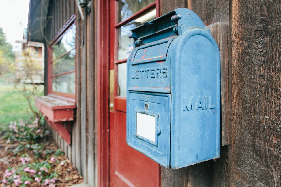 Old US Mailbox